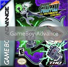 Image of Danny Phantom The Ultimate Enemy original video game for GameBoy Advance classic game system. Rocket City Arcade, Huntsville Al. We ship used video games Nationwide