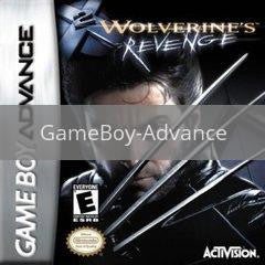 Image of X-Men Wolverines Revenge original video game for GameBoy Advance classic game system. Rocket City Arcade, Huntsville Al. We ship used video games Nationwide
