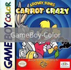 Image of Looney Tunes Carrot Crazy original video game for GameBoy Color classic game system. Rocket City Arcade, Huntsville Al. We ship used video games Nationwide
