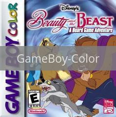 Image of Beauty and the Beast A Board Game Adventure original video game for GameBoy Color classic game system. Rocket City Arcade, Huntsville Al. We ship used video games Nationwide
