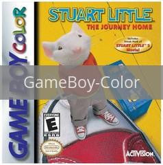 Image of Stuart Little Journey Home original video game for GameBoy Color classic game system. Rocket City Arcade, Huntsville Al. We ship used video games Nationwide