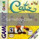 Image of Catz original video game for GameBoy Color classic game system. Rocket City Arcade, Huntsville Al. We ship used video games Nationwide