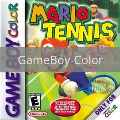 Image of Mario Tennis original video game for GameBoy Color classic game system. Rocket City Arcade, Huntsville Al. We ship used video games Nationwide