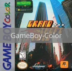 Image of Grand Theft Auto original video game for GameBoy Color classic game system. Rocket City Arcade, Huntsville Al. We ship used video games Nationwide