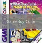 Image of Disney Magical Racing Tour original video game for GameBoy Color classic game system. Rocket City Arcade, Huntsville Al. We ship used video games Nationwide