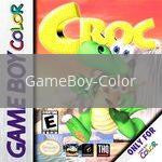 Image of Croc original video game for GameBoy Color classic game system. Rocket City Arcade, Huntsville Al. We ship used video games Nationwide