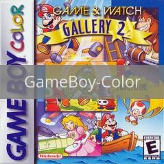 Image of Game and Watch Gallery 2 original video game for GameBoy Color classic game system. Rocket City Arcade, Huntsville Al. We ship used video games Nationwide