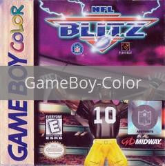 Image of NFL Blitz original video game for GameBoy Color classic game system. Rocket City Arcade, Huntsville Al. We ship used video games Nationwide