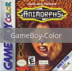Image of Animorphs original video game for GameBoy Color classic game system. Rocket City Arcade, Huntsville Al. We ship used video games Nationwide