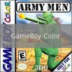 Image of Army Men original video game for GameBoy Color classic game system. Rocket City Arcade, Huntsville Al. We ship used video games Nationwide