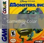 Image of Monsters Inc original video game for GameBoy Color classic game system. Rocket City Arcade, Huntsville Al. We ship used video games Nationwide