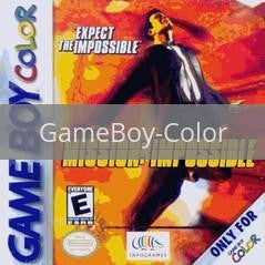 Image of Mission Impossible original video game for GameBoy Color classic game system. Rocket City Arcade, Huntsville Al. We ship used video games Nationwide