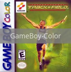 Image of International Track & Field original video game for GameBoy Color classic game system. Rocket City Arcade, Huntsville Al. We ship used video games Nationwide
