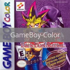 Image of Yu-Gi-Oh Dark Duel Stories original video game for GameBoy Color classic game system. Rocket City Arcade, Huntsville Al. We ship used video games Nationwide