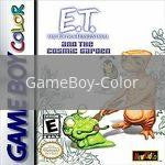 Image of ET and the Cosmic Garden original video game for GameBoy Color classic game system. Rocket City Arcade, Huntsville Al. We ship used video games Nationwide