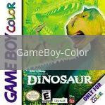 Image of Disney's Dinosaur original video game for GameBoy Color classic game system. Rocket City Arcade, Huntsville Al. We ship used video games Nationwide
