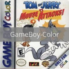 Image of Tom and Jerry Mouse Attacks original video game for GameBoy Color classic game system. Rocket City Arcade, Huntsville Al. We ship used video games Nationwide