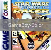Image of Star Wars Episode I Racer original video game for GameBoy Color classic game system. Rocket City Arcade, Huntsville Al. We ship used video games Nationwide