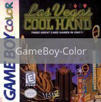 Image of Las Vegas Cool Hand original video game for GameBoy Color classic game system. Rocket City Arcade, Huntsville Al. We ship used video games Nationwide