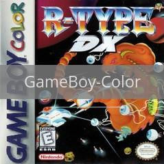 Image of R-Type DX original video game for GameBoy Color classic game system. Rocket City Arcade, Huntsville Al. We ship used video games Nationwide
