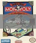 Image of Monopoly original video game for GameBoy Color classic game system. Rocket City Arcade, Huntsville Al. We ship used video games Nationwide