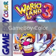 Image of Wario Land 3 original video game for GameBoy Color classic game system. Rocket City Arcade, Huntsville Al. We ship used video games Nationwide