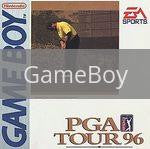 Image of PGA Tour 96 original video game for GameBoy classic game system. Rocket City Arcade, Huntsville Al. We ship used video games Nationwide