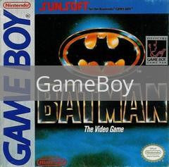 Image of Batman the Video Game original video game for GameBoy classic game system. Rocket City Arcade, Huntsville Al. We ship used video games Nationwide