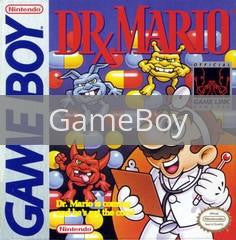 Image of Dr. Mario original video game for GameBoy classic game system. Rocket City Arcade, Huntsville Al. We ship used video games Nationwide