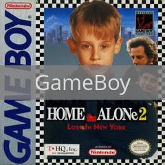 Image of Home Alone 2 Lost In New York original video game for GameBoy classic game system. Rocket City Arcade, Huntsville Al. We ship used video games Nationwide