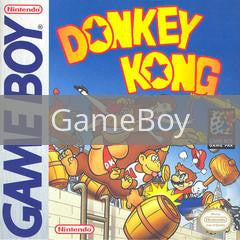 Image of Donkey Kong original video game for GameBoy classic game system. Rocket City Arcade, Huntsville Al. We ship used video games Nationwide