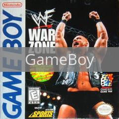 Image of WWF Warzone original video game for GameBoy classic game system. Rocket City Arcade, Huntsville Al. We ship used video games Nationwide