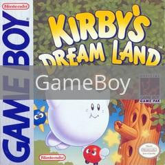 Image of Kirby's Dream Land original video game for GameBoy classic game system. Rocket City Arcade, Huntsville Al. We ship used video games Nationwide