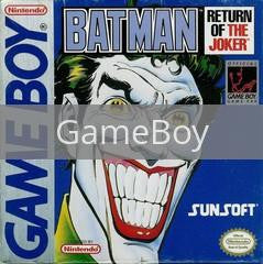 Image of Batman: Return of the Joker original video game for GameBoy classic game system. Rocket City Arcade, Huntsville Al. We ship used video games Nationwide