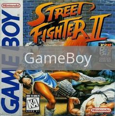 Image of Street Fighter II original video game for GameBoy classic game system. Rocket City Arcade, Huntsville Al. We ship used video games Nationwide