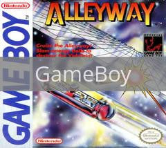 Image of Alleyway original video game for GameBoy classic game system. Rocket City Arcade, Huntsville Al. We ship used video games Nationwide