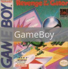 Image of Revenge of the Gator original video game for GameBoy classic game system. Rocket City Arcade, Huntsville Al. We ship used video games Nationwide