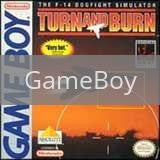 Image of Turn And Burn The F-14 Dogfight Simulator original video game for GameBoy classic game system. Rocket City Arcade, Huntsville Al. We ship used video games Nationwide