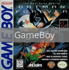 Image of Batman Forever original video game for GameBoy classic game system. Rocket City Arcade, Huntsville Al. We ship used video games Nationwide