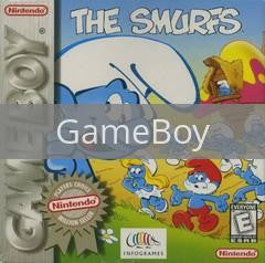 Image of The Smurfs original video game for GameBoy classic game system. Rocket City Arcade, Huntsville Al. We ship used video games Nationwide