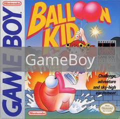 Image of Balloon Kid original video game for GameBoy classic game system. Rocket City Arcade, Huntsville Al. We ship used video games Nationwide