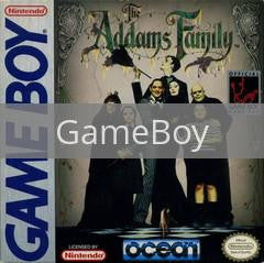 Image of Addams Family original video game for GameBoy classic game system. Rocket City Arcade, Huntsville Al. We ship used video games Nationwide