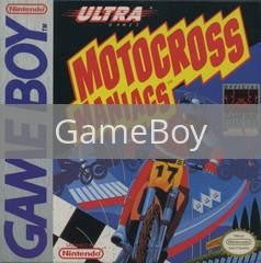 Image of Motocross Maniacs original video game for GameBoy classic game system. Rocket City Arcade, Huntsville Al. We ship used video games Nationwide