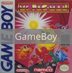 Image of Ms. Pac-Man original video game for GameBoy classic game system. Rocket City Arcade, Huntsville Al. We ship used video games Nationwide