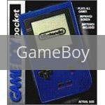 Image of Blue Game Boy Pocket original video game for GameBoy classic game system. Rocket City Arcade, Huntsville Al. We ship used video games Nationwide