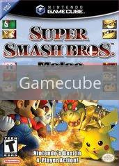 Image of Super Smash Bros. Melee original video game for Gamecube classic game system. Rocket City Arcade, Huntsville Al. We ship used video games Nationwide