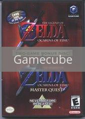 Image of Zelda Ocarina of Time Master Quest original video game for Gamecube classic game system. Rocket City Arcade, Huntsville Al. We ship used video games Nationwide