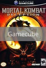 Image of Mortal Kombat Deception original video game for Gamecube classic game system. Rocket City Arcade, Huntsville Al. We ship used video games Nationwide