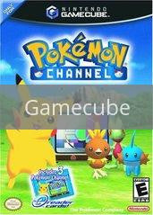 Image of Pokemon Channel original video game for Gamecube classic game system. Rocket City Arcade, Huntsville Al. We ship used video games Nationwide