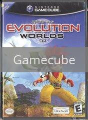 Image of Evolution Worlds original video game for Gamecube classic game system. Rocket City Arcade, Huntsville Al. We ship used video games Nationwide